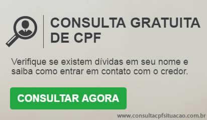 Consulta CPF grátis SCPC