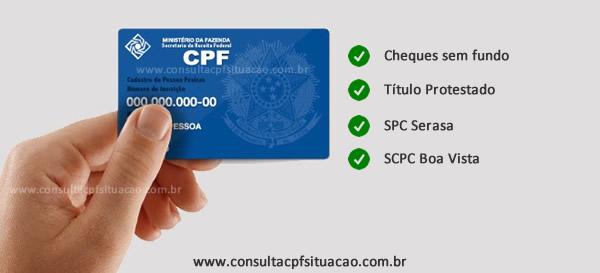 Regularizar CPF SPC Serasa