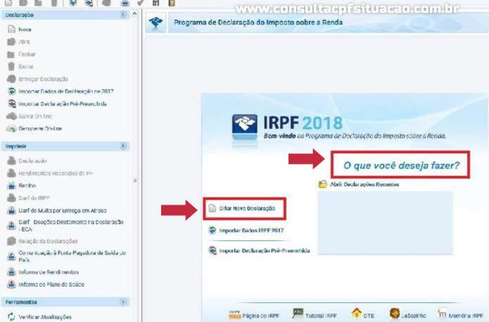 Imposto de Renda 2018 - Img Reprodução